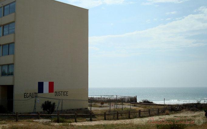 Immeuble Le Signal, façade Nord, Soulac-sur-Mer Photographie © Christian Coulais