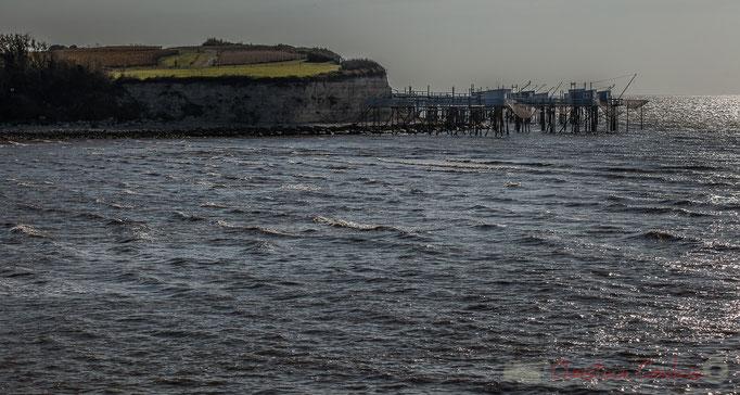 Carrelets et pontons, La roche de Caillaud, Talmont-sur-Gironde