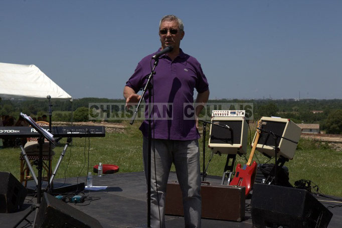 Bernard Capdepuy, élu à Quinsac, en charge du Festival JAZZ360