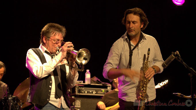 Freddy Buzon, Jean-Christophe Jacques; Post Images. Festival JAZZ360 2012, Cénac. 10/06/2012