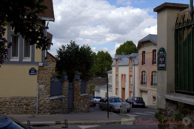 Rue de la Liberté, Villa de Lorraine, Paris 19ème