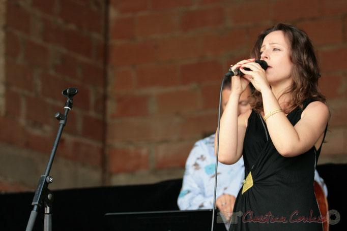 Florinda Piticchio; Florinda Piticchio & Balarm Quartet, Festival JAZZ360 2011, Cénac. 05/06/2011