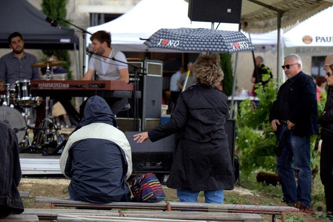 2/4 Festival JAZZ360 2015, le temps d'une averse, Château Lestange, Quinsac. 14/06/2015