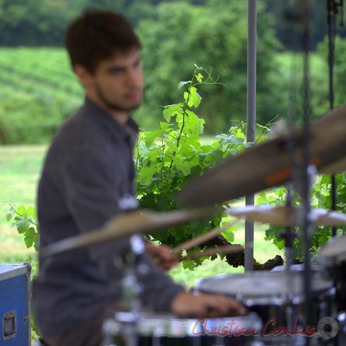 Festival JAZZ360 2015, Vigne & Tom Peyron; Isotope Trio, Quinsac. 14/06/2015