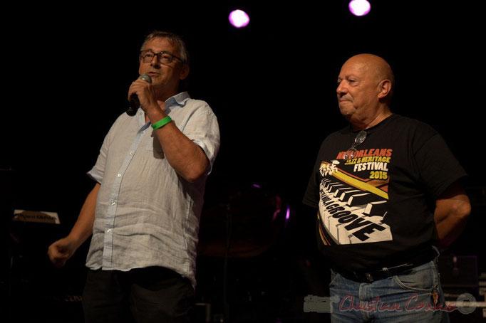 Festival JAZZ360, Richard Raducanu, Président de JAZZ360, Alain Piarou, Président d'Action Jazz