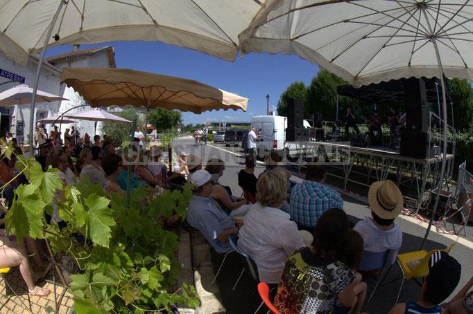 """""""Un festival aux portes des vignobles"""" Festival JAZZ360 2014, Cadijo vagabond blues project, Latresne. 08/06/2014"""