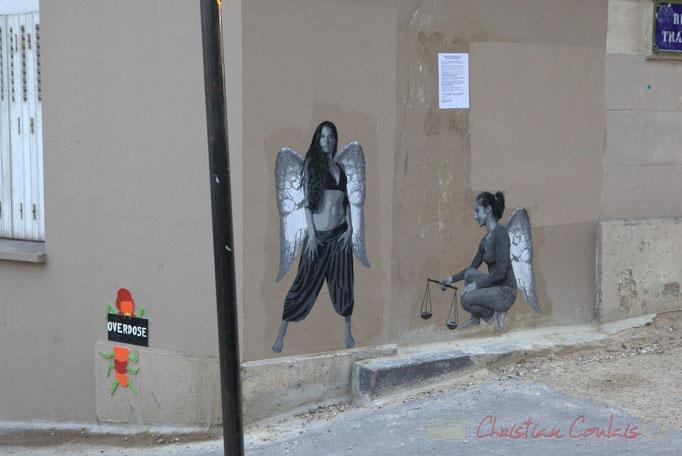 Rue des Couronnes, Rue du Transvaal, Paris 20ème
