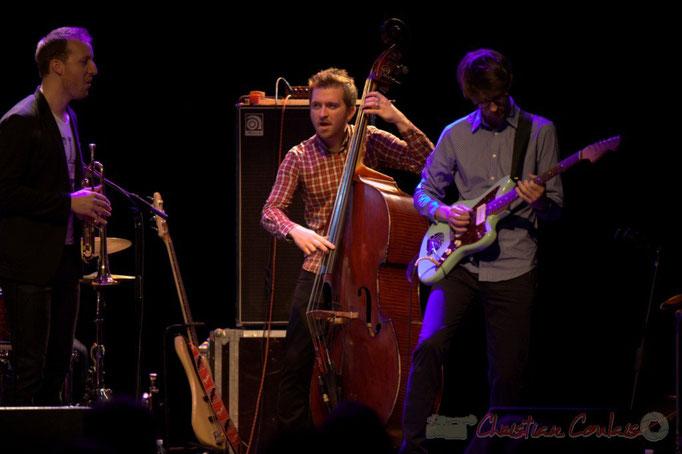 Guillaume Gardey de Soos, Martin Jaussan, Matthis Pascaud, les Métropolitains, Festival JAZZ360 2013