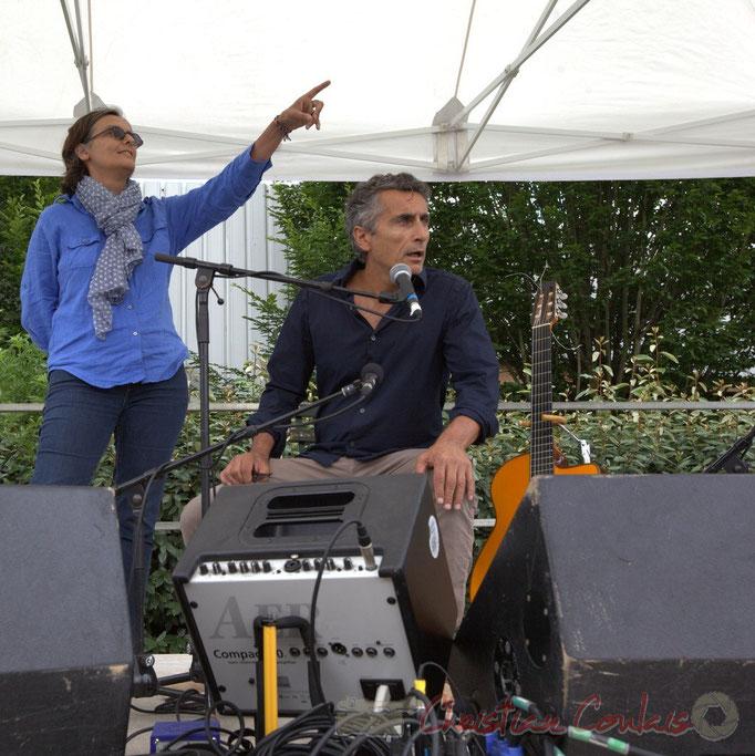 Festival JAZZ360 2015, est-ce Sandrine Salier et Vincent Michelet, élus à Latresne qui sont en 1ère partie ? 14/06/2015
