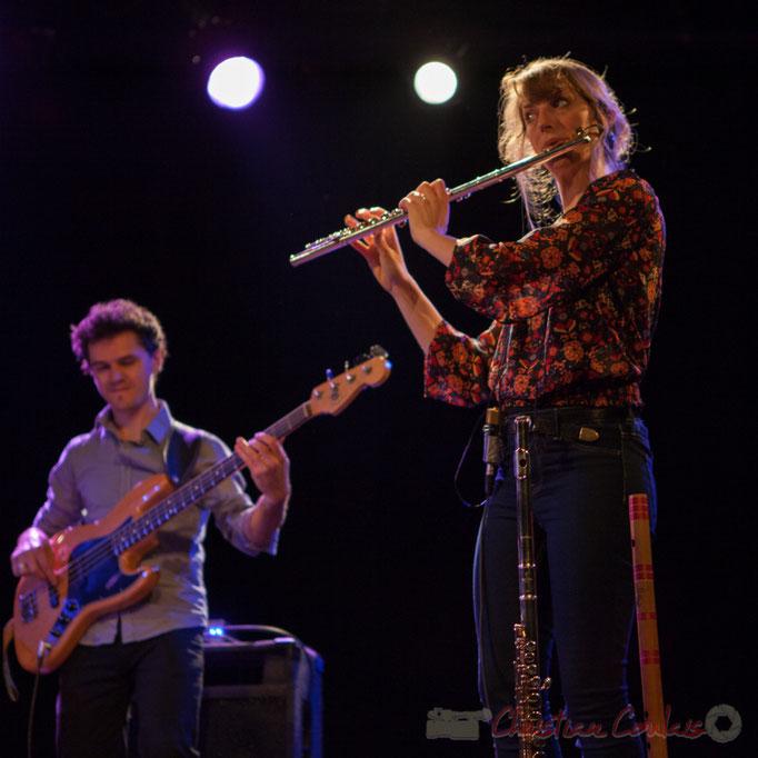 Ouriel Ellert, Emilie Calmé; Youpi Quartet, JAZZ360, Cénac, 19/03/2016
