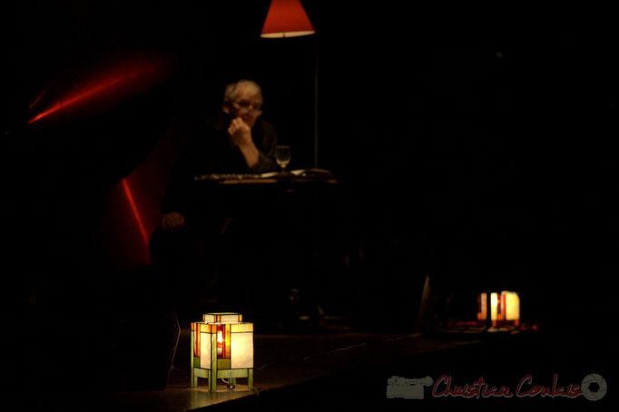 """Nougaro en 4 couleurs, """"Hommage à Claude Nougaro"""". Les jeudis du Jazz, Créon, 16/04/2015. Reproduction interdite - Tous droits réservés © Christian Coulais"""