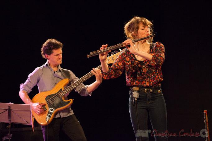 Ouriel Ellert, Emilie Calmé, Youpi Quartet, JAZZ360 à Cénac, 19/03/2016