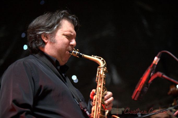Cyril Prévost; Django Phil, Festival JAZZ360 2013, Latresne. 09/06/2013