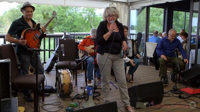 Festival JAZZ360 2015, Marie-Line Micheau-Heraud, adjointe au Maire de Camblanes-et-Meynac. 13 juin 2015