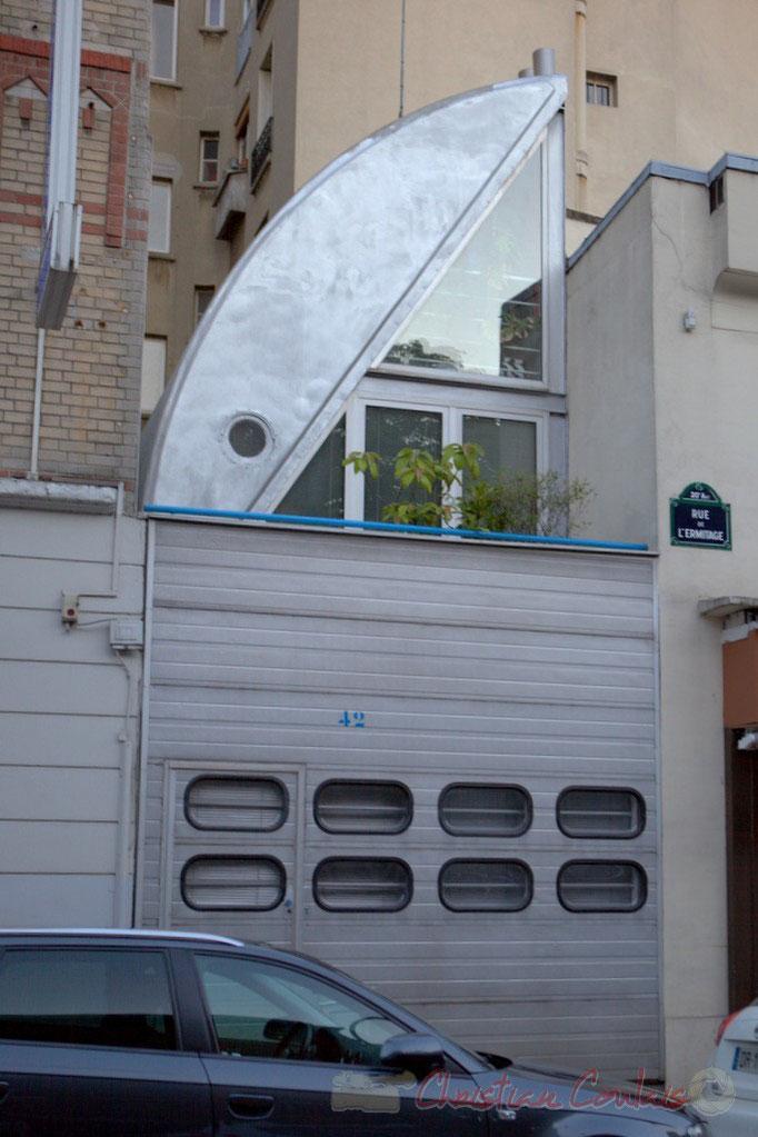 Rue de l'Ermitage, Paris 20ème