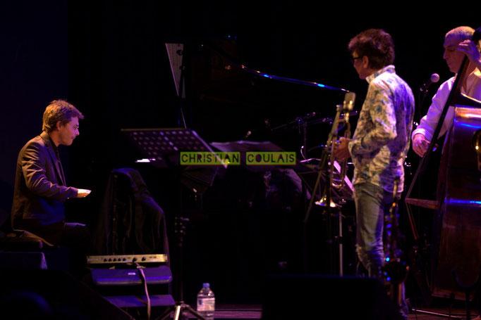 Festival JAZZ360 2014, Xavier Duprat, Freddy Buzon, Iazid Ketfi; Asix Quintet, Cénac. 06/06/2014
