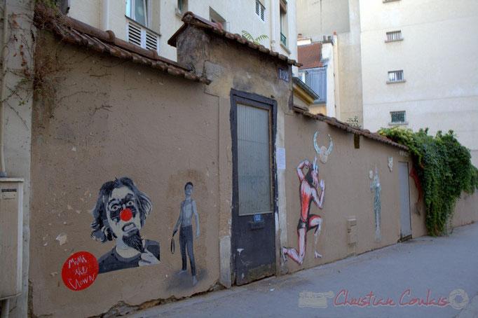 Rue des Couronnes, Paris 20ème