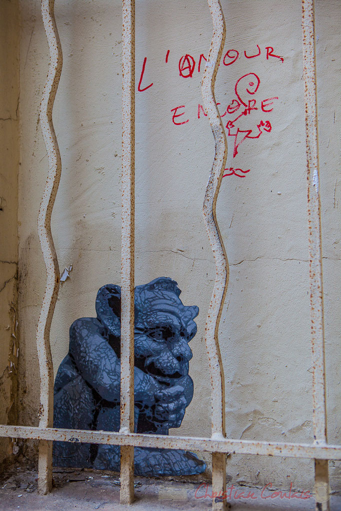 et la Bête...Passage Saint-Bernard, Paris 11ème arrondissement