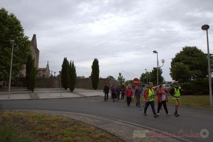 Festival JAZZ360 2015, randonnée pédestre, square des écoliers, Cénac