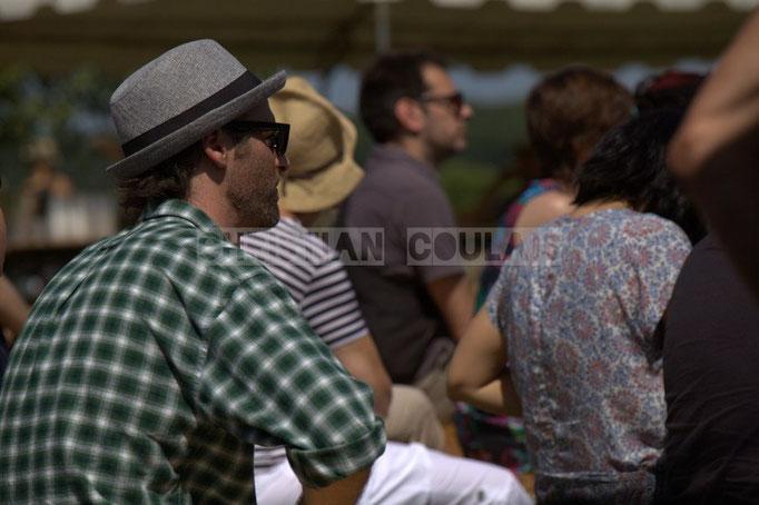 """""""Chapeaux 1"""" Festival JAZZ360 2014, château Lestange, Quinsac. 08/06/2014"""