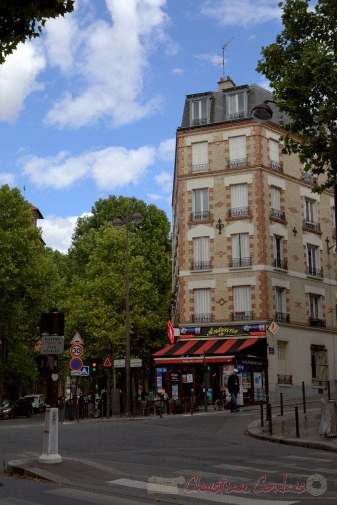 Rue de Mouzaïa / Rue Compans, Paris 19ème