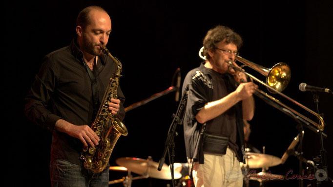 Mathieu Saint-Laurent, Slobodan Sokolovic; Slobodan Sokolovic Sextet. Festival JAZZ360 2012, Cénac. 08/06/2012