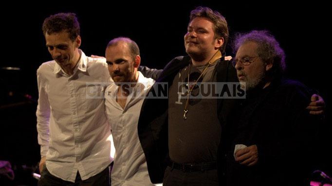 Pierre de Bethmann, Sylvain Romano, Baptiste Herbin, André Ceccarelli