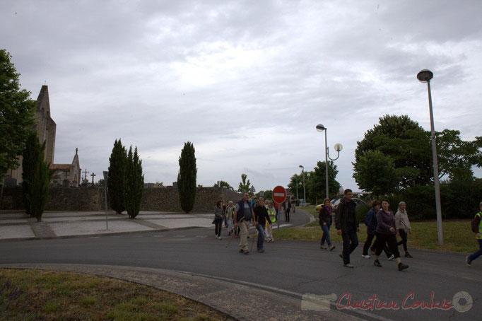 Festival JAZZ360 2015, randonnée pédestre, square des écoliers, Cénac. 14/06/2015