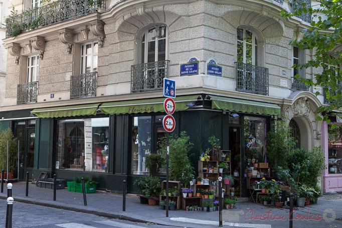 Passage de la bonne graine / Avenue Ledru-Rollin, Paris 11ème arrondissement