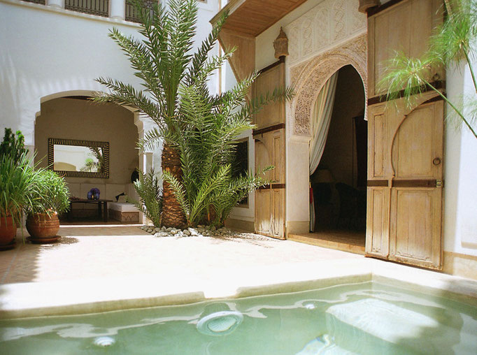 location riad de charme marrakech