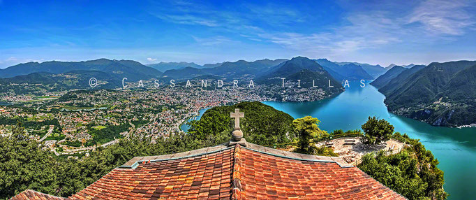 The city of Lugano is also in canton Ticino, but on a different lake sharing the same name as the city. Like Maggiore, the Swiss and Italians must share Lago di Lugano as well. But at least the Italians get Como all to themselves. :)