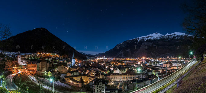 Chur, the oldest city in Switzerland, is the capital of the kanton of Graubünden.