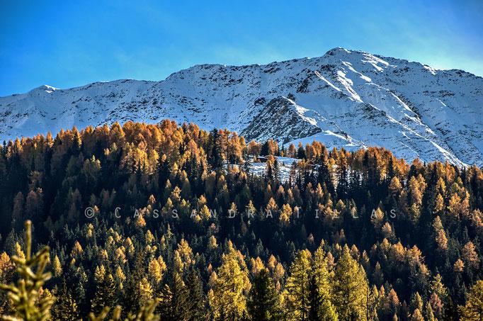 Anywhere in Graubünden.