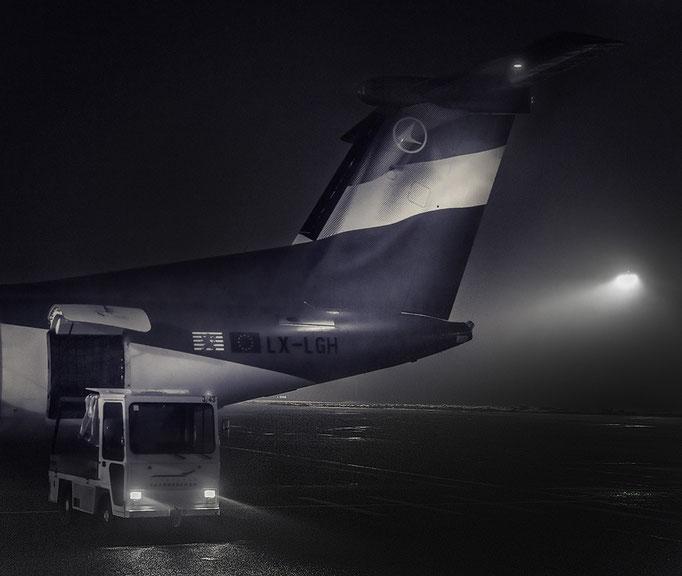 Airport by Night- Flughafen Saarbrücken- Workshop mit Carsten Schröder