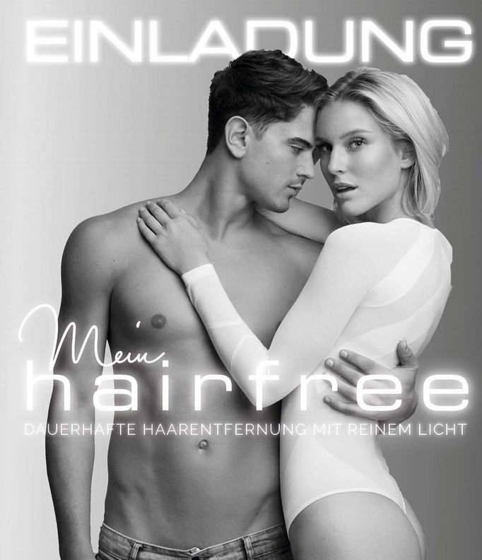 Dominik Bruntner & Kim Hnizdo for Hairfree Campagne