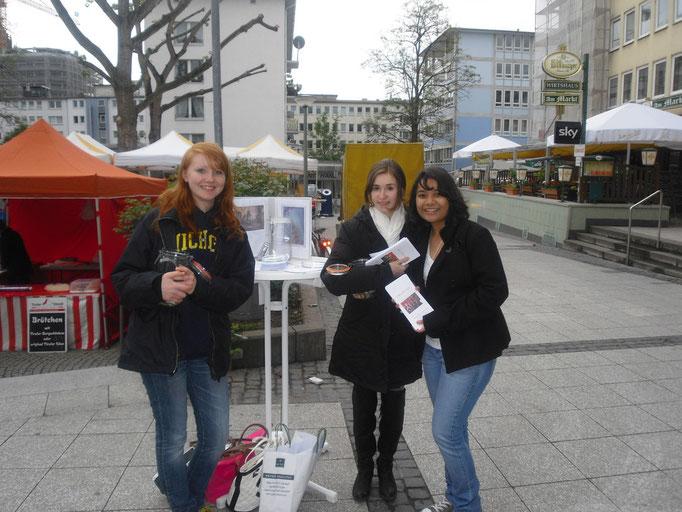Stand in Frankfurt