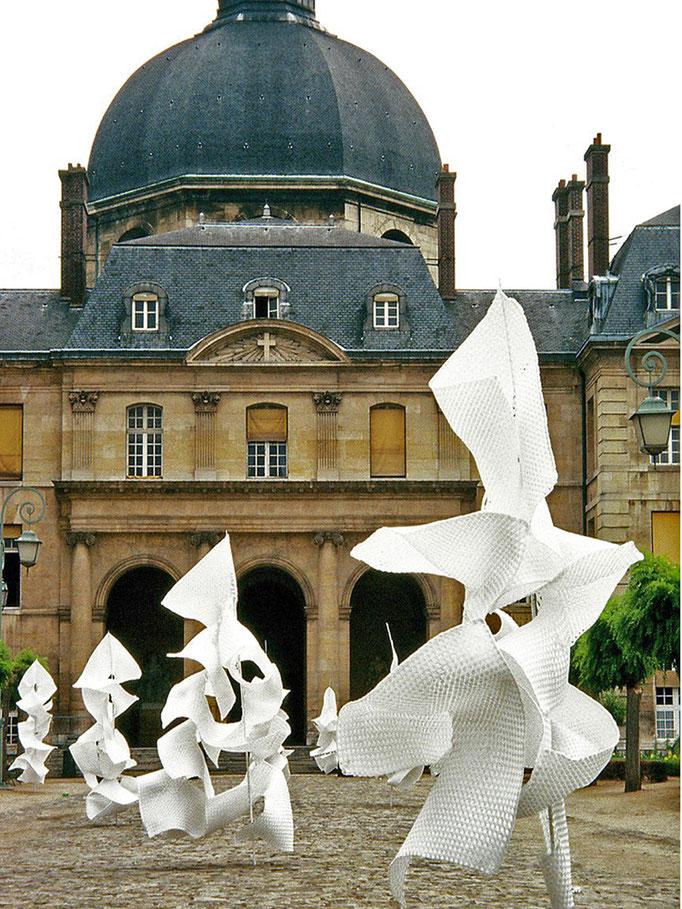 SARABANDE,    Cour de la Salpétrière,   Paris,   été 2005