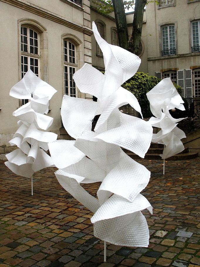 SARABANDE,  (détail)    Musée des tissus,  Lyon,  2007 _ 2008