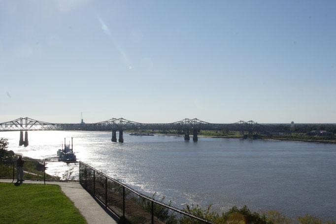 Brücke bei Baton Rouge, USA