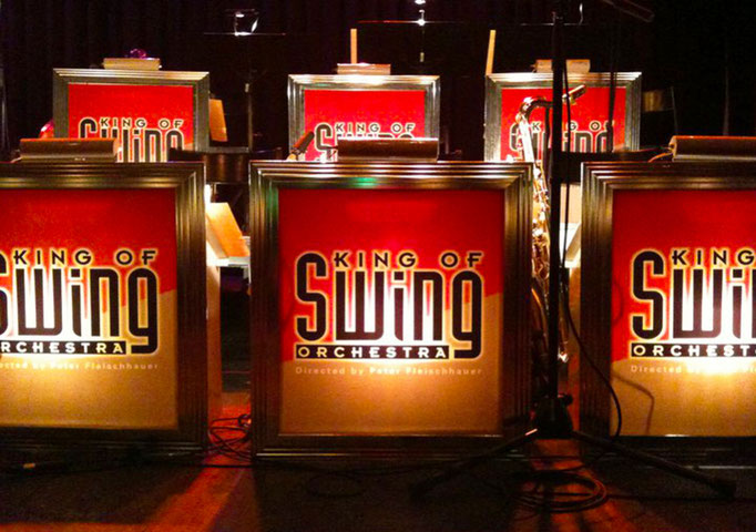 KING OF SWING ORCHESTRA (Ltg. Peter Fleischhauer) - Großartiger Big Band-Swing