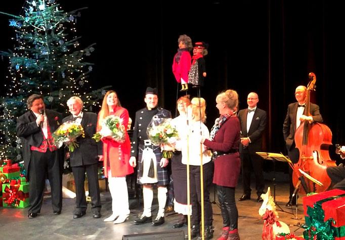 13. kölsche Weihnacht Bergisch Gladbach mit Ludwig Seebus, Thomas Cüpper, Heinz Monheim u.a.