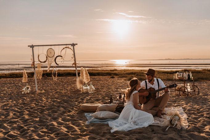 Strandhochzeit Holland Noordwijk Zandvoort