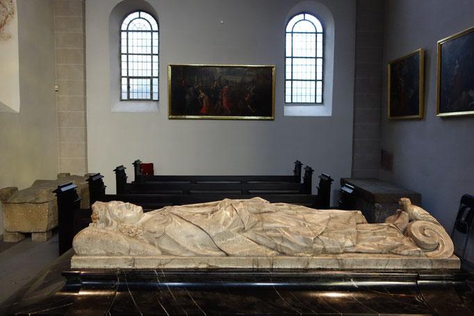 Il sarcofago di St. Ursula a Köln
