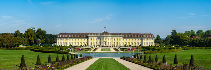 Ludwigsburg. Barockschloss.