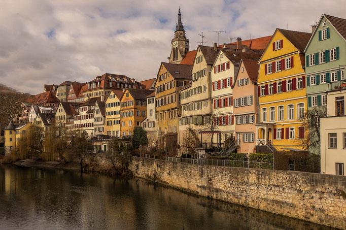 Tübingen. Neckarfront.