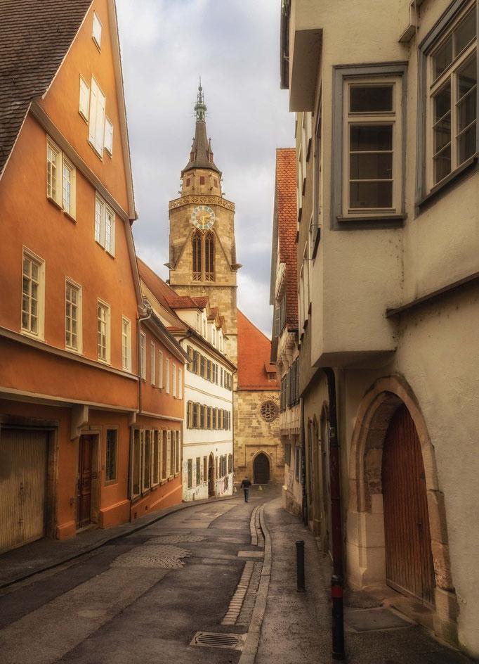 Tübingen. Stiftskirche.
