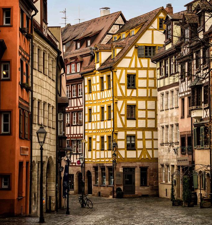 Nürnberg. Weißgerbergasse,