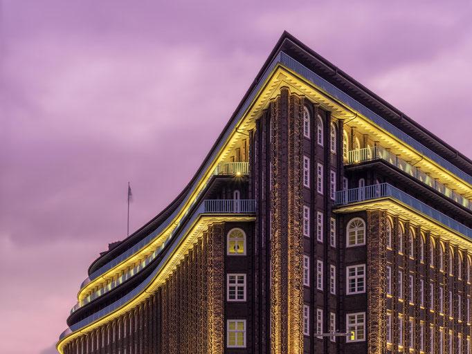 Hamburg. Chilehaus.