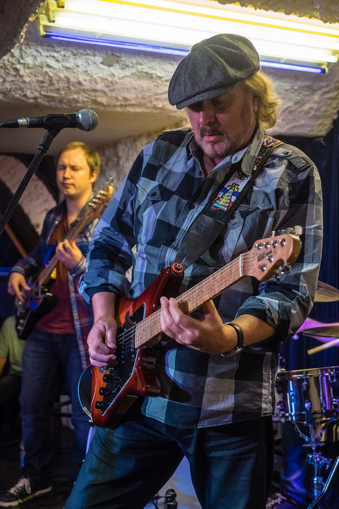 Miller Anderson, Muddy's Blues Club, Weinheim, 09/2015.
