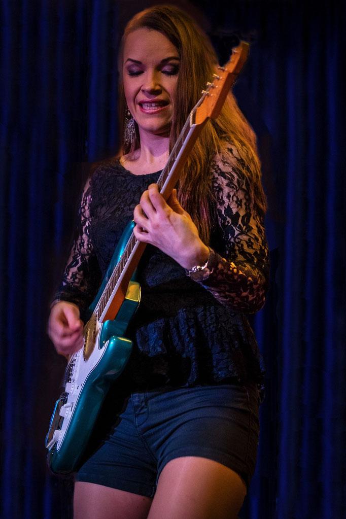 Erja Lyytinen, Muddy's Club, Weinheim, 11/2015.